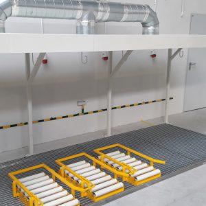 Wykonanie konstrukcji akumulatorowni, miejsc odkładczych oraz modernizacja instalacji wentylacji - Sitech Września