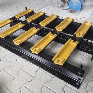 Wykonanie palet na siodła dla ciągników do transportu zewnętrznego - Jost Polska