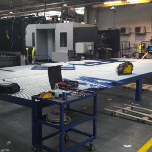 Wykonanie i montaż podestu technicznego - Jost Polska